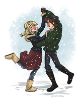COM: Snow Dance by Crownflame