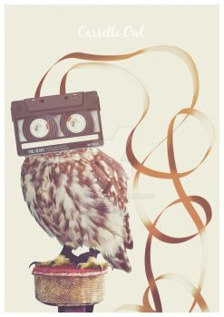 Cassette owl real by chris3290
