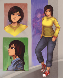 Story ending Character design-1 by Coke-brother