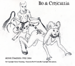 Bo and Cynicallia by AntonChanning