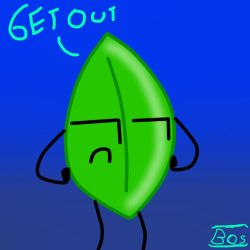 Leafy from BFDI by BagOfSwag