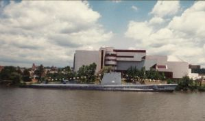 USS Requin (river view) by master-ninjabear