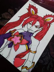 Star Guardian Jinx by blackrabbitartworks