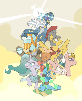 Pillars of Equestria by Metal-Kitty