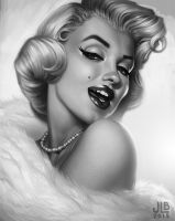 Marilyn by JessiBeans