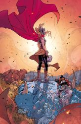 Thor #5 cover by RDauterman