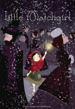 The Little Match Girl Book Cover by Lovelyinblack