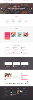 Toot Multipurpose PSD Template by begha