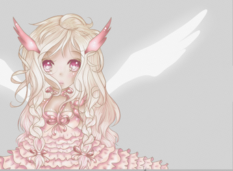 Angel in Pink by ChibiTay