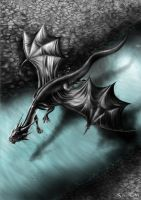 Dragon of the river by Dragkness