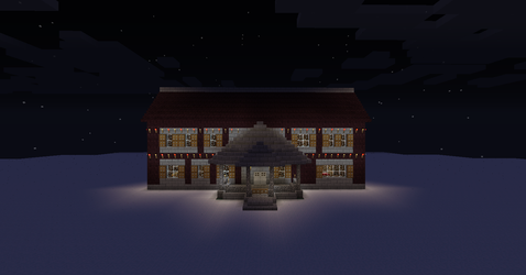 Minecraft mansion 2 by seth243