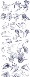 Hands Practice by Yohiri