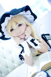 Golden haired Witch - Marisa Kirisame 01 by garion