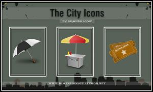 The City Icons by BlueMalboro