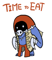 Smite - Time to Eat (Chibi) by Zennore