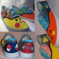 FOR SALE Electric Pokemon Shoes