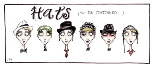 Hats by AugustPsylence