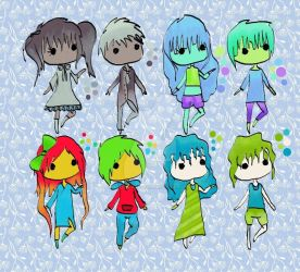 Chibi adopts ONLY 10 POINTS! by AChan-Adopts
