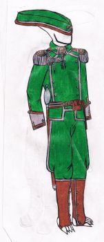 Royal Gaurd Officer Uniform by cheazypredy