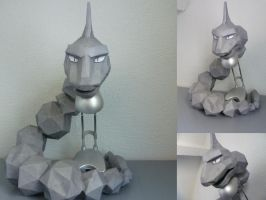Onix papercraft by dodoman75