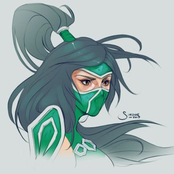 Akali by simoneferriero