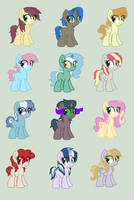 MLP Crack Ship Adoptables #4 CLOSED by Nyan-Adopts-2000
