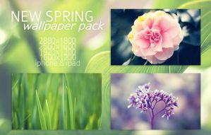 New Spring Wallpaper Pack by solefield
