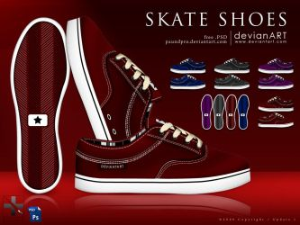 Skate Shoes by paundpro