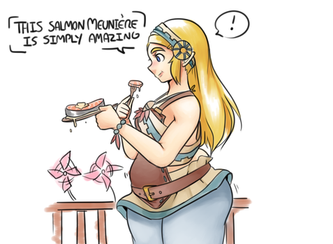 Breath of the Wild - Zelda's Food Tour (2/5) by MagicStraw