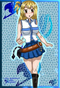 Lucy fairy Tail Fan art by jhonedwardelric