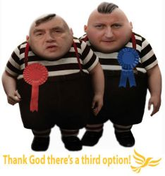 Tweedles Dull and Disingenuous by StoicLewy
