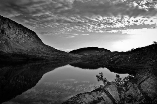 A taste of Norway BW by BoholmPhotography