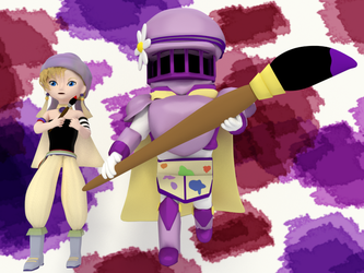 Painter Knights by SiverCat