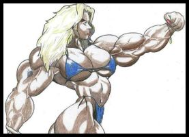 Muscular Pinup by ggbells