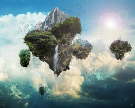 Land Above Earth by aintnothingbutme