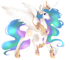 Princess Celestia by AliceTam