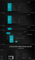 Litle Dark Cyan Theme Win10 Build 10586 aka 1511 by Cleodesktop