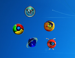Animated Browser Icons for Xwidget by nickpotz