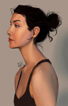 portrait study by Xdanix914