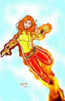Firestar (costume redesign) by PPPub
