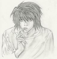 DN: L Lawliet by tomgirl227