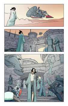 Comic book page by diegogue