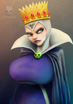 Evil Queen by DoubleDandE