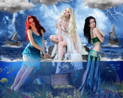 Greek Mythology: Sirens by DavienOrion