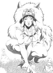 Princess Mononoke by ConradRuiz