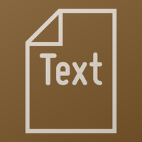 Text icon by Catspaw-DTP-Services