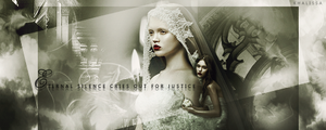 Eternal silence cries out for justice by Koo-chan