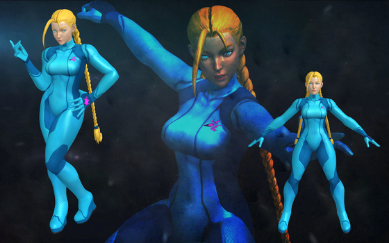 SFV Cammy Zero suit xps by DragonLord720