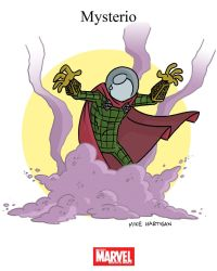 Mighty Marvel Month of March - Mysterio by tyrannus