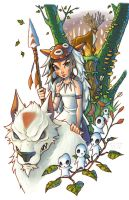 Mononoke by ChrissieZullo